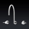 Gareth Ashton Lucia Gooseneck Wall Sink Set