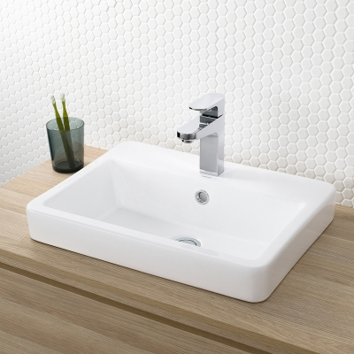 Benton S Finer Bathrooms Caroma Basa Inset Basin