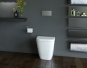 Caroma Cube Invisi Series II Wall Faced Toilet Suite