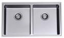 Clark Pete Evans Double Bowl Undermount Sink