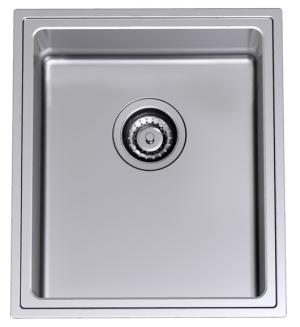 Benton S Finer Bathrooms Clark Single Bowl Undermount Sink