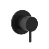 Clark Round Pin Shower/Bath Mixer Black