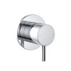 Clark Round Pin Shower/Bath Mixer Chrome