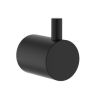 Clark Round Matte Black Robe Hook
