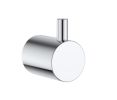 Clark Round Chrome Robe Hook