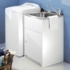 Clark Utility 42L Laundry Trough and Cabinet