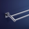 Dorf Enix Double Towel Rail 600mm