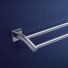 Dorf Enix Double Towel Rail 900mm
