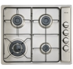Euro Sienna 60cm Gas Stainless Steel Cooktop with Wok Burner