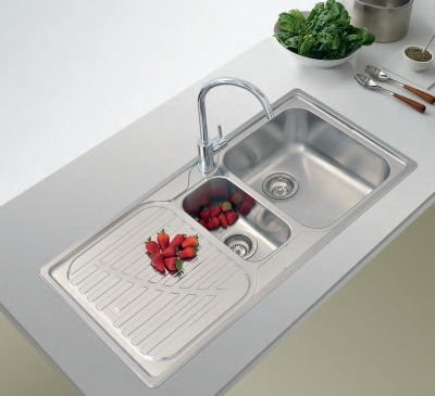 Bentons Finer Bathrooms Franke Drina Double Bowl Sink DRX621