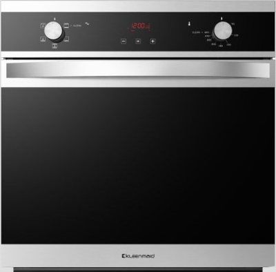 Benton S Finer Bathrooms Kleenmaid 60cm Black Krystal Oven