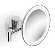 Parisi L'Hotel Round Magnifying Mirror with Light
