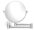 Parisi L'Hotel Swivel Magnifying Mirror