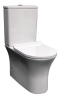 Parisi Slim Rimless BTW Toilet Suite