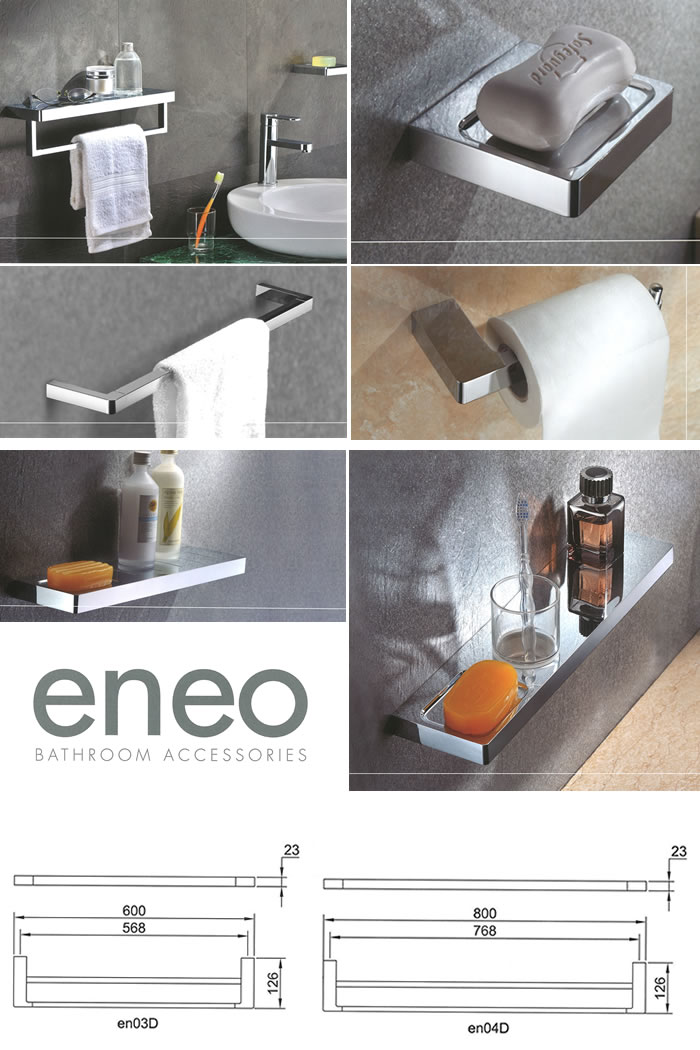 Streamline Eno Double Towel Rail specifications