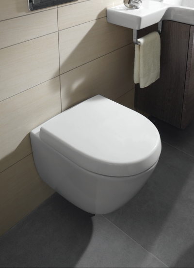 benton 39 s finer bathrooms villeroy boch subway wall hung ceramicplus toilet pan. Black Bedroom Furniture Sets. Home Design Ideas